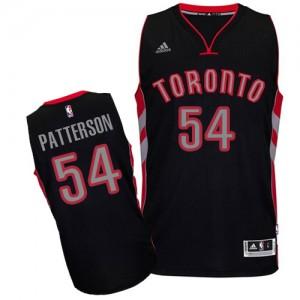 Toronto Raptors Patrick Patterson #54 Alternate Swingman Maillot d'équipe de NBA - Noir pour Homme