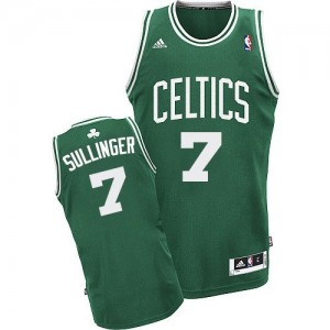 Maillot NBA Swingman Jared Sullinger #7 Boston Celtics Road Vert (No Blanc) - Homme