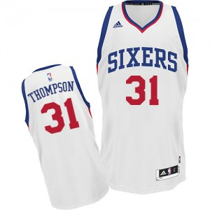 Maillot Adidas Blanc Home Swingman Philadelphia 76ers - Hollis Thompson #31 - Homme