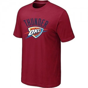 T-Shirts NBA Oklahoma City Thunder Rouge Big & Tall - Homme