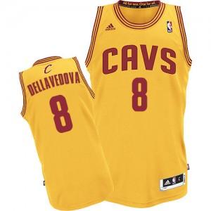Maillot NBA Authentic Matthew Dellavedova #8 Cleveland Cavaliers Alternate Or - Homme