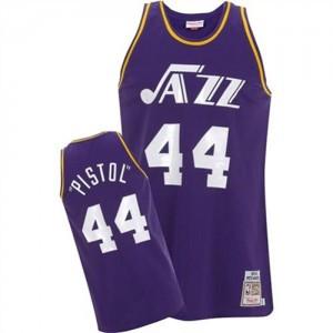 Maillot Adidas Violet Pistol Swingman Utah Jazz - Pete Maravich #44 - Homme