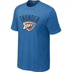 T-Shirts NBA Oklahoma City Thunder Bleu clair Big & Tall - Homme