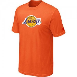 Los Angeles Lakers Big & Tall T-Shirts d'équipe de NBA - Orange pour Homme