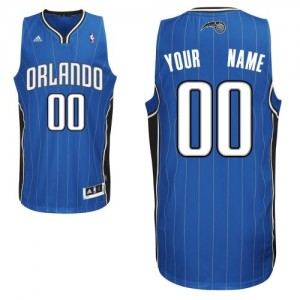 Maillot NBA Swingman Personnalisé Orlando Magic Road Bleu royal - Homme