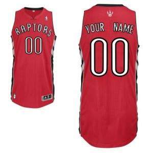 Toronto Raptors Authentic Personnalisé Road Maillot d'équipe de NBA - Rouge pour Enfants