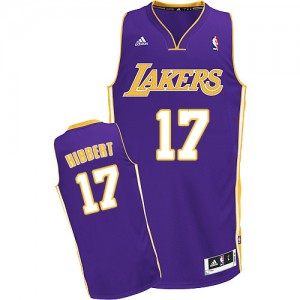 Maillot Swingman Los Angeles Lakers NBA Road Violet - #17 Roy Hibbert - Enfants
