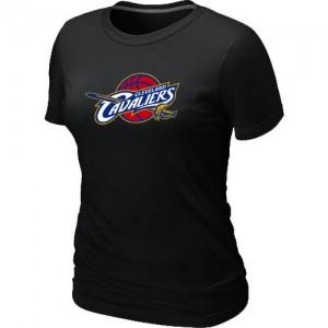 T-shirt principal de logo Cleveland Cavaliers NBA Big & Tall Noir - Femme