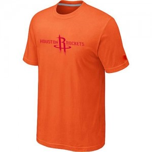 T-Shirts Orange Big & Tall Houston Rockets - Homme