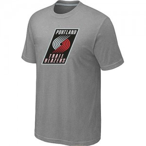 T-Shirts NBA Portland Trail Blazers Gris Big & Tall - Homme