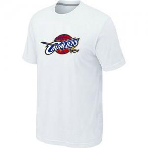 T-shirt principal de logo Cleveland Cavaliers NBA Big & Tall Blanc - Homme