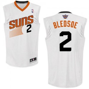 Maillot NBA Blanc Eric Bledsoe #2 Phoenix Suns Home Authentic Homme Adidas