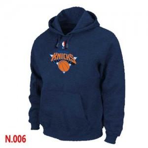 Sweat à capuche NBA New York Knicks Marine - Homme
