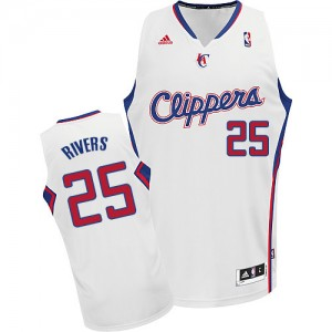Maillot Swingman Los Angeles Clippers NBA Home Blanc - #25 Austin Rivers - Homme