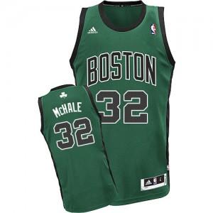 Maillot NBA Boston Celtics #32 Kevin Mchale Vert (No. noir) Adidas Swingman Alternate - Homme