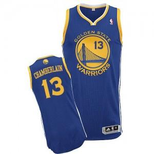 Golden State Warriors #13 Adidas Road Bleu royal Authentic Maillot d'équipe de NBA en ligne pas chers - Wilt Chamberlain pour Homme