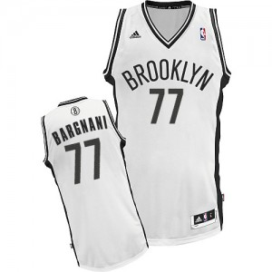 Brooklyn Nets #77 Adidas Home Blanc Swingman Maillot d'équipe de NBA Soldes discount - Andrea Bargnani pour Homme