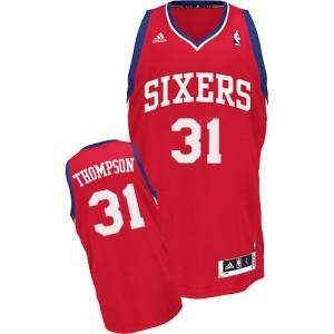 Maillot Adidas Rouge Road Swingman Philadelphia 76ers - Hollis Thompson #31 - Homme