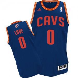 Maillot Adidas Bleu clair Revolution 30 Swingman Cleveland Cavaliers - Kevin Love #0 - Homme