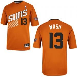 Phoenix Suns #13 Adidas Alternate Orange Swingman Maillot d'équipe de NBA Soldes discount - Steve Nash pour Homme