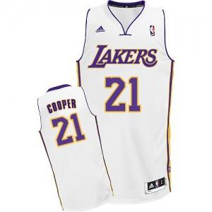 Los Angeles Lakers #21 Adidas Alternate Blanc Swingman Maillot d'équipe de NBA 100% authentique - Michael Cooper pour Homme