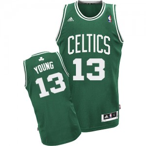 Maillot NBA Swingman James Young #13 Boston Celtics Road Vert (No Blanc) - Homme