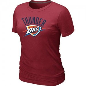 T-Shirts NBA Oklahoma City Thunder Rouge Big & Tall - Femme