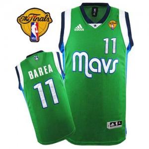 Maillot Adidas Vert Finals Patch Swingman Dallas Mavericks - Jose Barea #11 - Homme