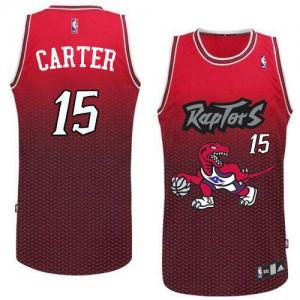 Maillot NBA Authentic Vince Carter #15 Toronto Raptors Resonate Fashion Rouge - Homme