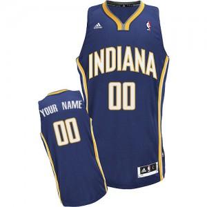 Indiana Pacers Personnalisé Adidas Road Bleu marin Maillot d'équipe de NBA à vendre - Swingman pour Homme