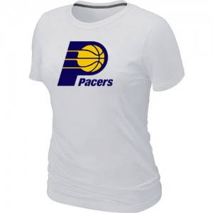T-Shirts Blanc Big & Tall Indiana Pacers - Femme