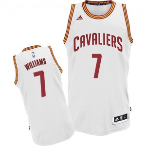 Maillot NBA Swingman Mo Williams #7 Cleveland Cavaliers Home Blanc - Homme
