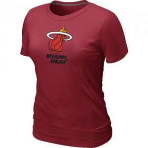 T-Shirts NBA Miami Heat Big & Tall Rouge - Femme