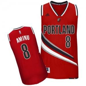 Maillot Swingman Portland Trail Blazers NBA Alternate Rouge - #8 Al-Farouq Aminu - Homme
