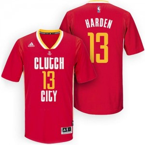 Maillot NBA Swingman James Harden #13 Houston Rockets Pride Clutch City Rouge - Homme