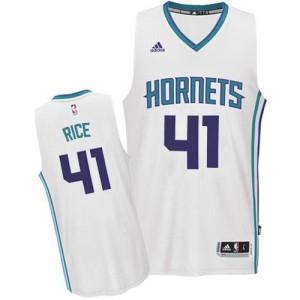 Charlotte Hornets Glen Rice #41 Home Swingman Maillot d'équipe de NBA - Blanc pour Homme