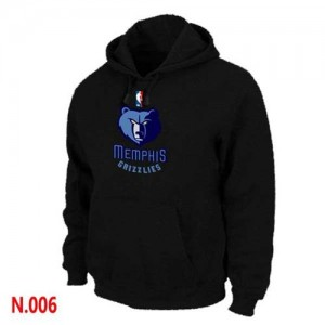 Memphis Grizzlies Sweat à capuche d'équipe de NBA - Noir pour Homme