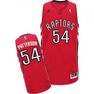 Maillot NBA Swingman Patrick Patterson #54 Toronto Raptors Road Rouge - Homme
