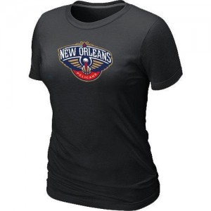 T-Shirts NBA New Orleans Pelicans Big & Tall Noir - Femme