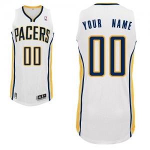 Indiana Pacers Personnalisé Adidas Home Blanc Maillot d'équipe de NBA pas cher en ligne - Authentic pour Homme
