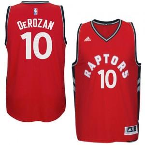 Maillot Adidas Rouge climacool Swingman Toronto Raptors - DeMar DeRozan #10 - Homme