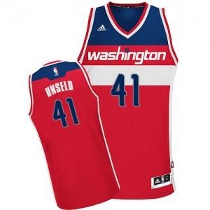 Washington Wizards Wes Unseld #41 Road Swingman Maillot d'équipe de NBA - Rouge pour Homme