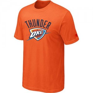 T-Shirts NBA Oklahoma City Thunder Orange Big & Tall - Homme
