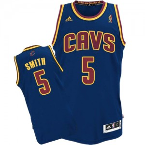 Maillot Authentic Cleveland Cavaliers NBA CavFanatic Bleu marin - #5 J.R. Smith - Homme