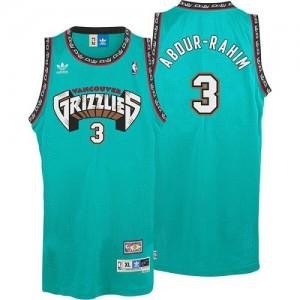 Maillot NBA Authentic Shareef Abdur-Rahim #3 Memphis Grizzlies Hardwood Classics Throwback Vert - Homme