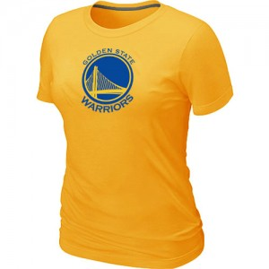 T-Shirts Jaune Big & Tall Golden State Warriors - Femme