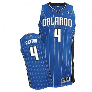 Maillot NBA Authentic Elfrid Payton #4 Orlando Magic Road Bleu royal - Homme