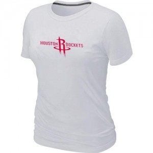 T-Shirts Blanc Big & Tall Houston Rockets - Femme