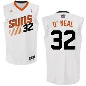 Phoenix Suns #32 Adidas Home Blanc Swingman Maillot d'équipe de NBA Prix d'usine - Shaquille O'Neal pour Homme