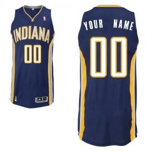 Indiana Pacers Personnalisé Adidas Road Bleu marin Maillot d'équipe de NBA boutique en ligne - Authentic pour Homme